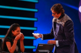 Amitabh Bachchan's helping hand to a contestant