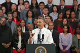 Indian American Entrepreneur Introduces Obama in SF