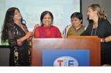 ICA Honors Activists Nileema Mishra, Melinda Kramer