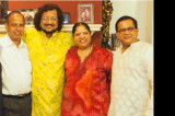 """An Unforgettable Evening with Giants"" Pt. Kumar Bose and Pt. Ramesh Mishra Bring Banaras to Houston"