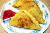Mama's Punjabi Recipes- Bread Pakore (Fried Bread Fritters)