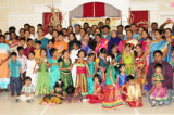"""Greater Houston Tamil School Students Revel in  Traditional """"Thai Pongal"""" Celebrations"""