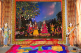 A Magical Experience of Colors at  Radha Madhav Dham, Austin