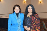 "Neeta Sane and Chitra Divakaruni Share ""Life's Lessons""  at the IACCGH ""Women Mean Business"" Event"