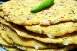 Mama's Punjabi Recipes- Missi Roti (SPICY MIXED FLOUR FLATBREAD)