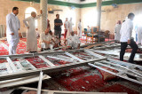 Suicide bomber kills 20 at Shia mosque in Saudi Arabia