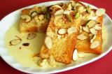 Mama's Punjabi Recipes- Mitthi Bread or Shahi Tukdre  (Sweetened Fried Bread Pudding)