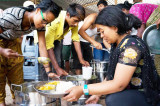 Akshaya Patra Field Kitchen in Nepal  Opens & Serves Meals for Earthquake Survivors