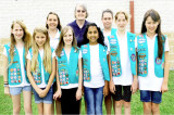 Girl Scout Troop # 26176 Earned Girl Scout Bronze Award