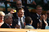 The Incredible Moment David Beckham Made a Brilliant Catch at Wimbledon