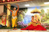 Thousands Celebrate Janmashtami at  Radha Madhav Dham Temple