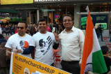 NRIs hold 'Litti pe Charcha' in Times Square
