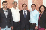 Raja Krishnamoorthi Visits Houston  to Muster Support for his Congressional Run