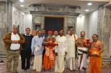 Mahakumbhabhishekam Celebrations  Begin at Sri Meenkashi Temple with Ganapathy Homam
