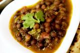 Mama's Punjabi Recipes: Kale Channe Turi Wale (Black  Chicpea Curry)