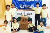 JVB Preksha Meditation Center  Participates in Diwali Food Drive  Initiated By Hindus of Greater Houston