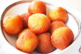 Mama's Punjabi Recipes: Gulab Jamun (Rose Colored Fried Sweet Balls)