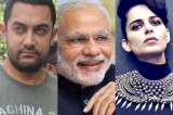 Aamir Khan and Kangana Ranaut attend PM Narendra Modi's private dinner!