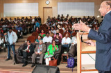Dr. Dronamraju Addresses the 103rd Indian Science Congress at the University of Mysore