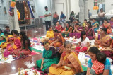 Sri Vasavi Agni Pravesam and Thai Sukravara Deepa Puja Celebrations at Sri Meenakshi Temple