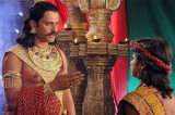 Drama galore coronation ceremony in Chakravartin Ashoka Samrat
