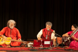 Pandit Vishwa Mohan Bhatt and Vidushi Manju Mehta Create Magic with Strings in Houston