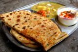 Mama's Punjabi Recipes: Aaloo da Parantha (Potato Stuffed Crispy Flatbread)
