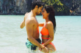 Katrina Kaif romances Sidharth Malhotra in a bikini in Baar Baar Dekho's new still