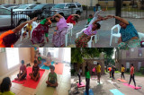 International Day of Yoga Celebration  by SEWA in Los Arcos, San Marcos