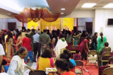 Hundreds Throng Mata Di Chowki by Puneet Khurana at HWS
