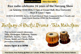 Free Concert at Rice University on 9/24: Celebrate 24 Years of Rice Radio's Navrang Show