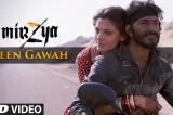 TEEN GAWAH Video Song | MIRZYA | Shankar Ehsaan Loy | Rakeysh Omprakash Mehra | Gulzar | T-Series