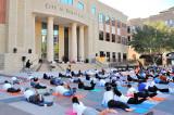 Yoga for Health, Health for Humanity Yogathon