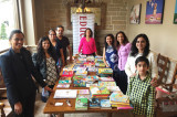 IACF Healthcare Networking Dinner, Book Donation for Literacy