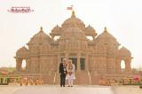 PM Narendra Modi and Australia PM Malcolm Turnbull Visit Swaminarayan Akshardham, New Delhi
