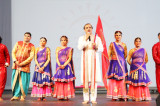Performers from the Ekal Vidalaya's Villages Showcase Ekal's Indian Successes