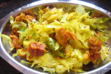 Mama's Punjabi Recipes: Bandh Gobi Te Wadiyan  (Cabbage & Spicy Dumplings)