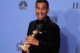 Aziz Ansari becomes first Asian to win Golden Globe on a night Oprah lights up speculation on White House 2020