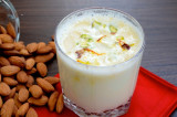 Mama's Punjabi Recipes: Badam Wala Dudh (Hot Almond Milk Tonic)