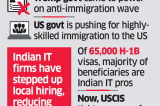 Trump government makes H-1B visa approval tougher, Indian IT firms to be hit