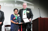 Dr. Rajam Ramamurthy Receives the Golden Aesculapius Award from the Bexar County Medical Society