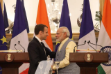 Narendra Modi, Emmanuel Macron look to broaden ties as India, France ink 14 deals