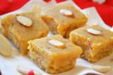 Mama's Punjabi Recipes: Badam di Burfi (Almond Milk Squares)