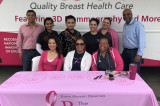 IMAGH, IACAN & The Rose  at Cancer Screening Fair