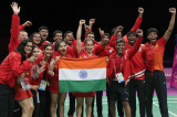 CWG 2018: Saina Nehwal helps India claim historic gold medal in badminton mixed-team event