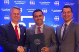 Wallis State Bank's Aziz Rahim Gets SBA Award
