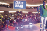 Zakir Khan Cracks Up Houstonians