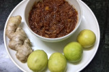 Mama's Punjabi Recipes: Nimbu aur Adrak da Achaar (LEMON & GINGER PICKLES)
