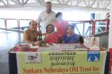 Sankara Nethralaya OM Trust Booth at Telagana Convention