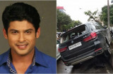 TV actor Sidharth Shukla loses control of BMW, rams into three cars